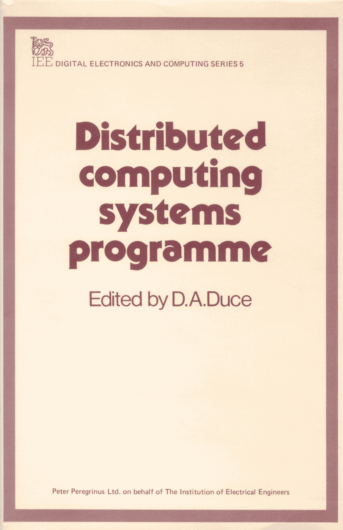 Proceedings of the 1984 DCS Conference