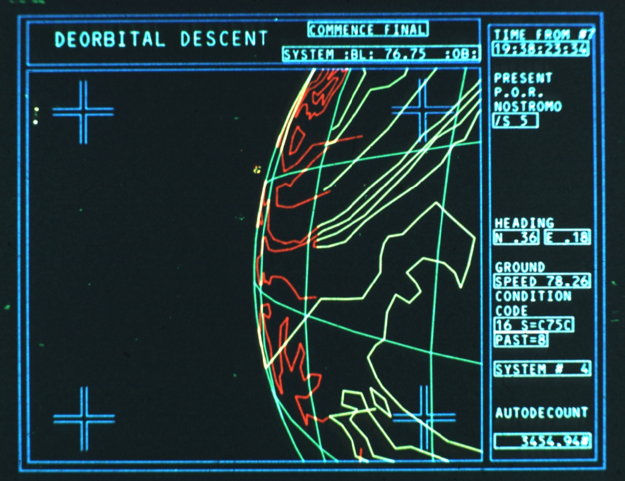 Frame from Alien Movie