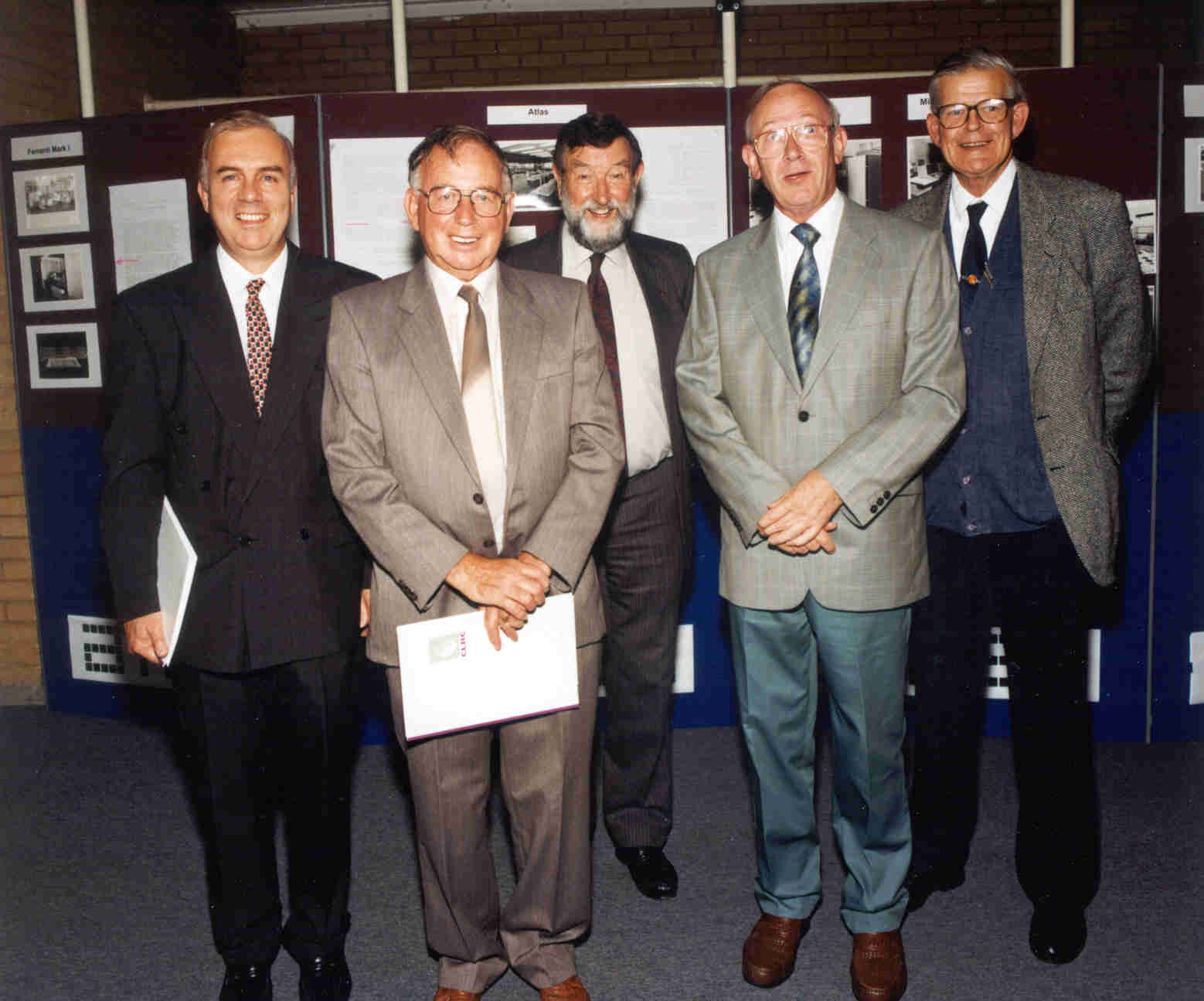 Jack's Celebration: Ken Byrd, Doug House, Bart Fossey, Mike Claringbold, Gary Williams