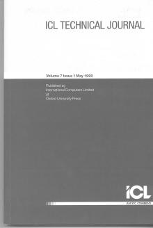 Later Version of the ICL Technical Journal