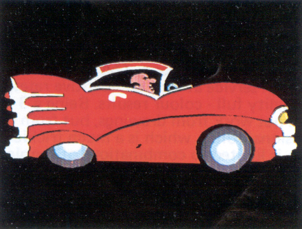 C3 examples of typical images; cartoon drawing of a car