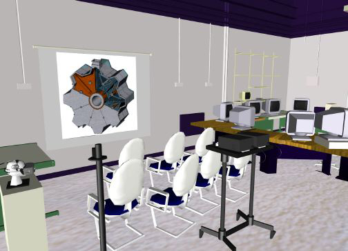 Figure 2: the virtual VR Centre