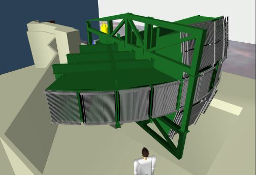 Figure 2: VR model of the complete MAPS Instrument