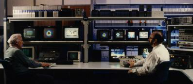 The video production and editing bay of the MediaLab