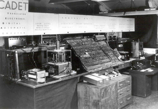 Figure 5: Harwell Cadet: First Transitorised Computer in Europe, 1955