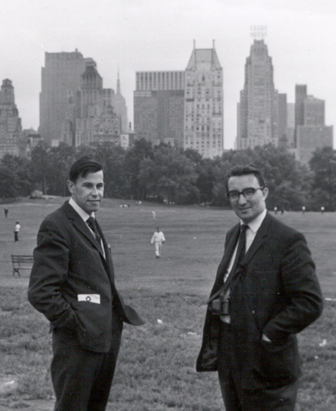 Bob Hopgood and Bob Churchhouse, Central Park