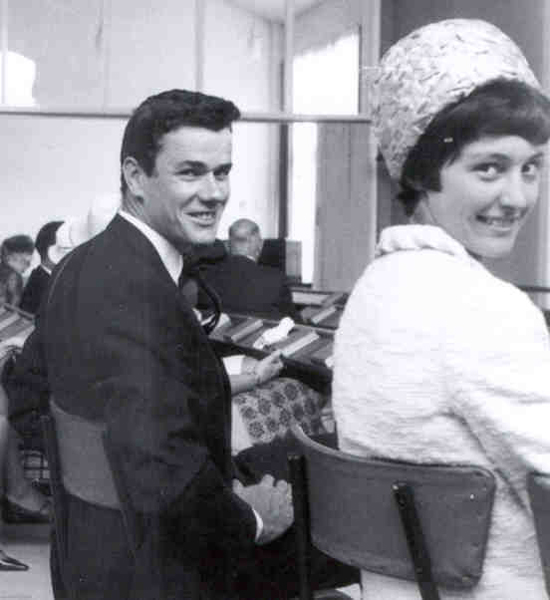 Alex and Margaret Bell 1965