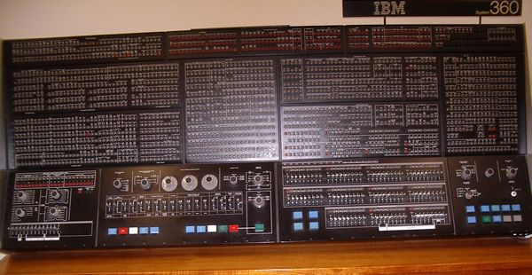 360/195 Console, still at the Laboratory in 2005