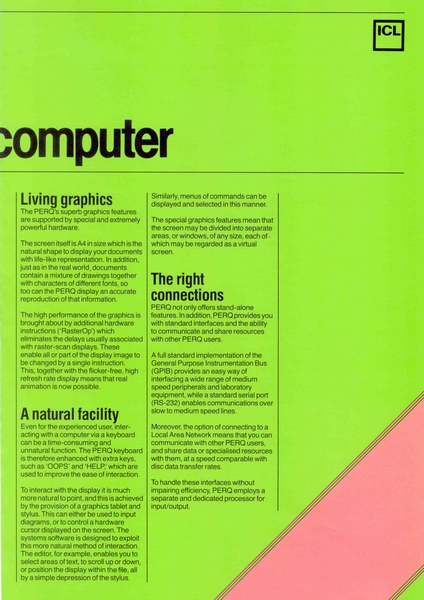 Living graphics, December 1981
