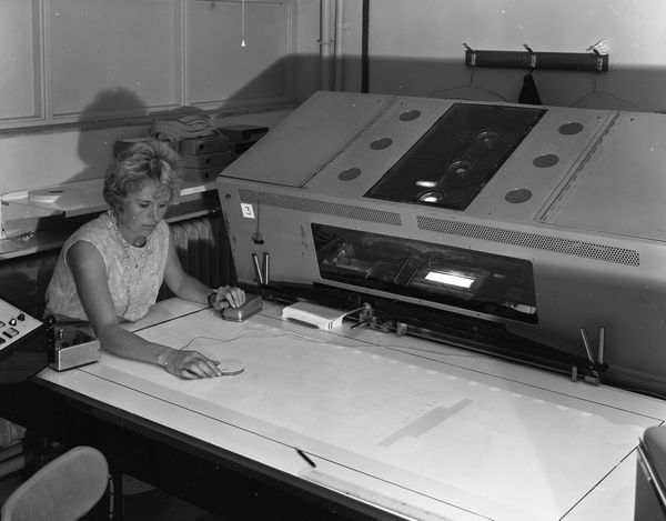 Scanning Lab, July 1968