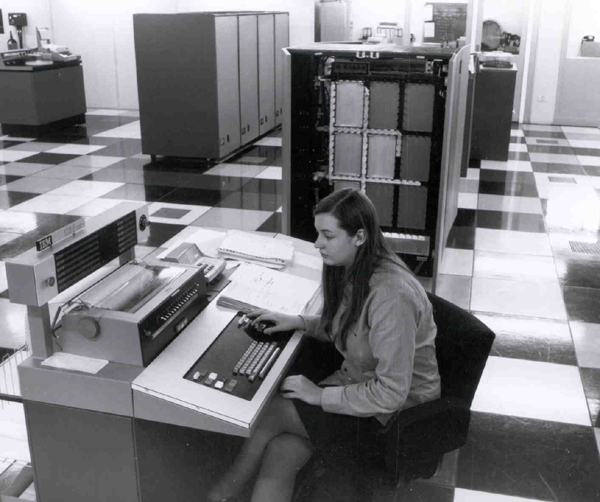 Atlas IBM 1130 Workstation, January 1973