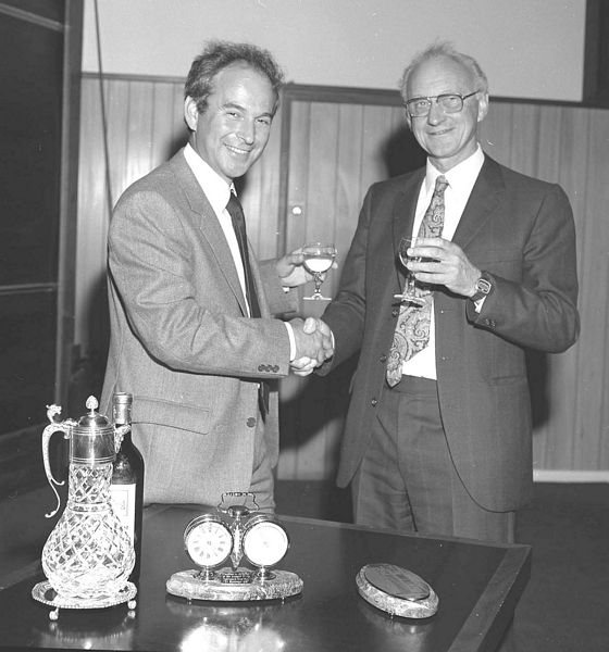 Godfrey Stafford, Head of Rutherford Appleton Laboratory, 