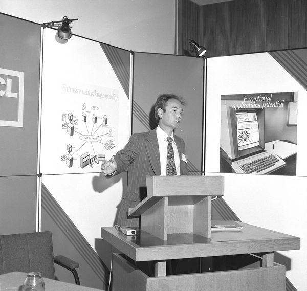 ICL/SERC Launch at RAL: Geoff Manning, 5 October 1981