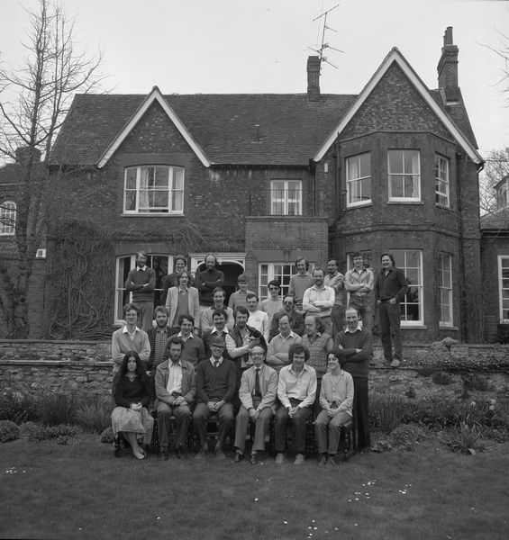 Participants in the Summer School, Easter 1984