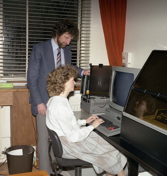 Diamond Word Processor, photo taken March 1985